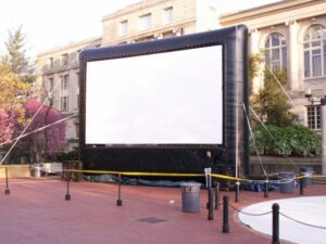 Large screen on Lowry Mall