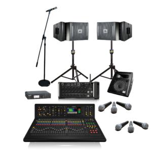 Medium PA with Monitors