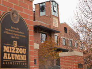 Reynolds Alumni located on the Mizzou Campus.