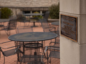 Tiger Terrace located on the Mizzou campus.